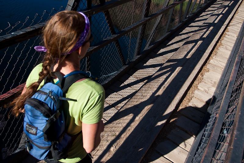 Bridge crossing over the Colorado River.