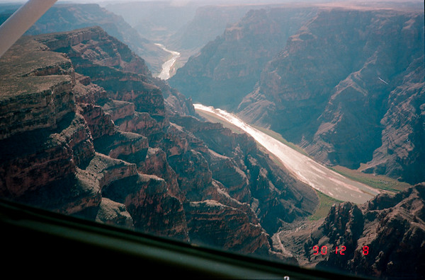 Hoover Dam and Grand Canyon Charter Flight 1990