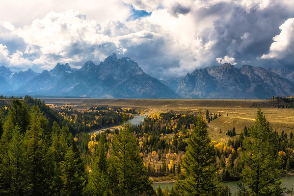 Grand Teton /Yellowstone  Fall 2016