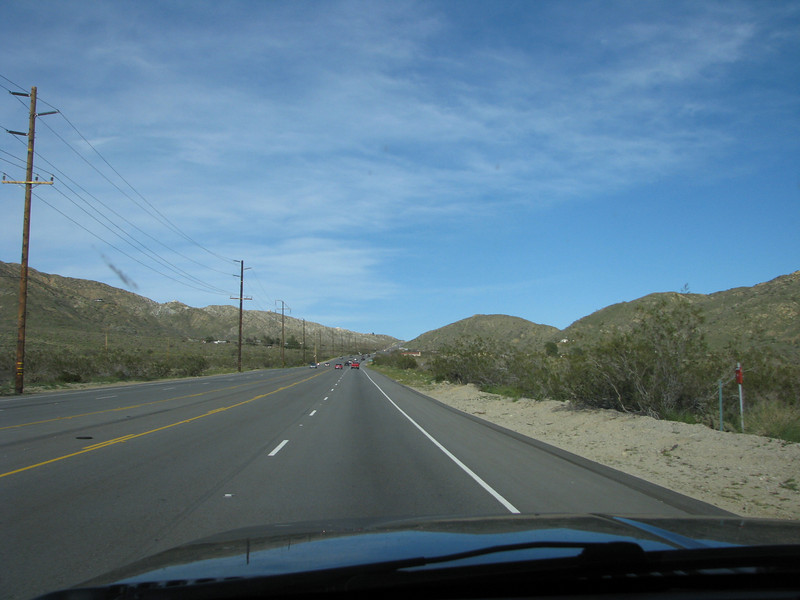 Yucca,Ca. on Hwy62 heading towards 29 Palms to where we will make our way to Amboy Crater. I had read that the wildflowers were in overdrive this year.