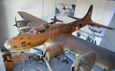 The iconic B-17 Flying Fortress.
