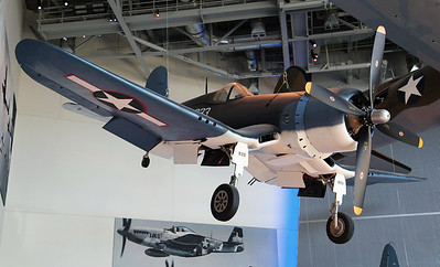 The Vaught Corsair carrier-based fighter.