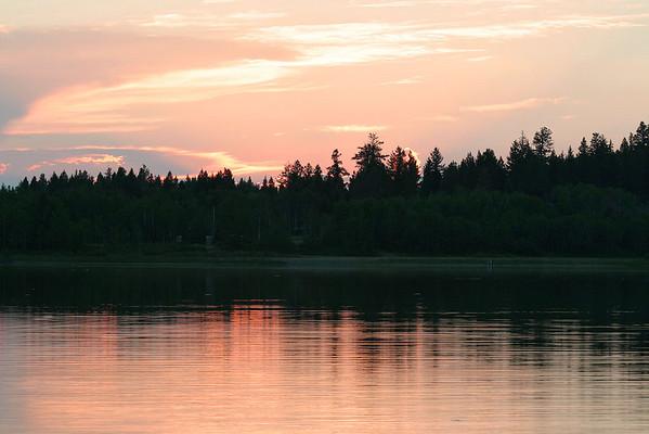 Sunset at 108 Lake