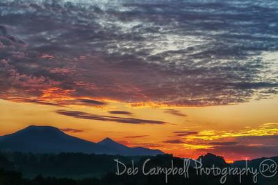 Sunrise on Interstate 81