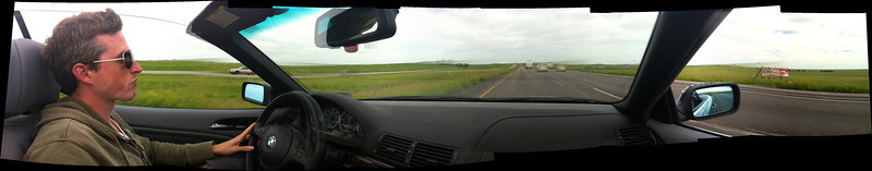 Taken with iPhone + AutoStitch app