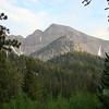 Wheeler Peak from my campsite.