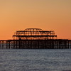 Brighton, the old pier