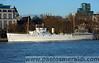 HMS Wellington on the Thames, London