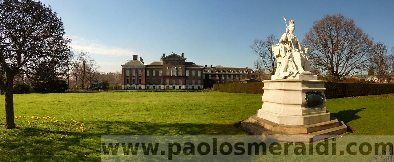 Kensington Palace, Kensington Gardens, London