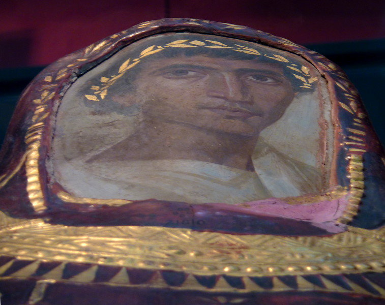 Mummy case and portrait of Artemidorus,  British Museum, London