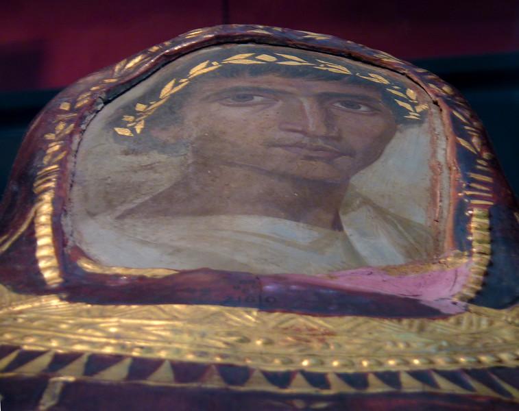 Mummy case and portrait of Artemidorus,  British Museum, London