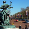 The Mall from Buckingham Palace, London
