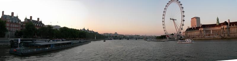 Thames, London Eye