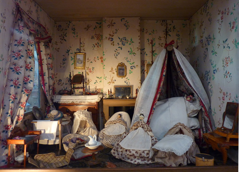 Dollhouses, V&A Childhood Museum, London, UK