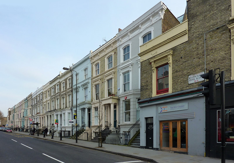 Westbourne Park Road, Notting Hill, London