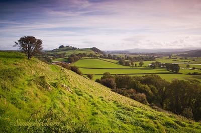 Dryslwyn Castle in Wales.