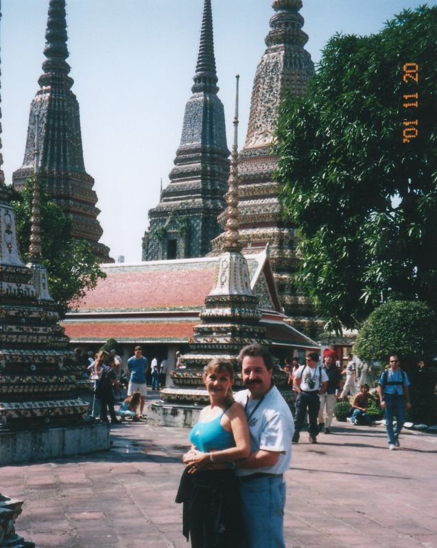 2001 - Bangkok, Thailand.  Amazing temples and the Grand Palace are must see sites in the vibrant city of Bangkok.