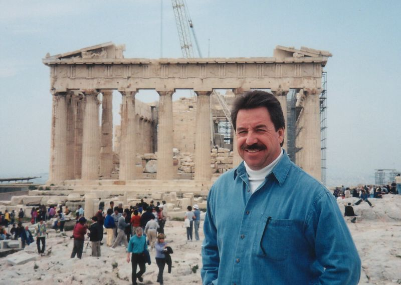 2000 - Athens, Greece.  Our Eastern Mediterranean curise started in Athens and ended in Instanbul, Turkey