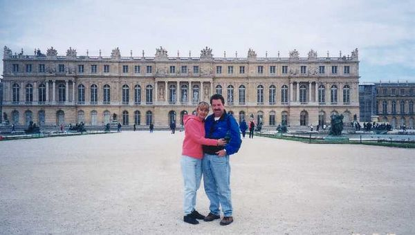 2001 - Versailles, France.  The palace and gardens are amazing to the point of decadance.