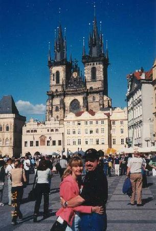 2001 - Prague, Czech Republic,  In the spring of 2001 we traveled to Germany and then took the train to Prague.  It quickly became one of our all time favorite cities.