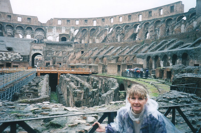 2000 - Rome, Italy.  On our second trip to the Mediterranean in late 2000 we hit thirteen ports in fourteen days, most of them in Italy.  Of course the highlight would have to be the enternal city of Rome.