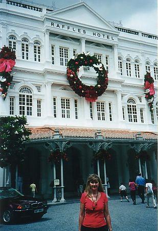 2001 - Raffles Hotel, Singapore.