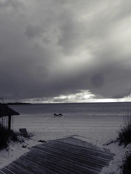 Cloudy Morning at Emerald Bay