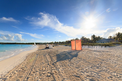 Beach at Sandals Emerald Bay