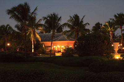 Evening at Sandals Emerald Bay