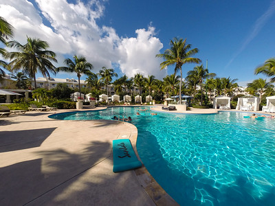 Quiet Pool Panorama, Sandals Emerald Bay