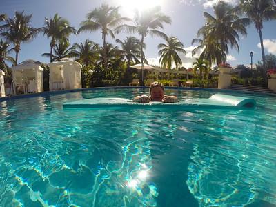 Lauralea in the Quiet Pool