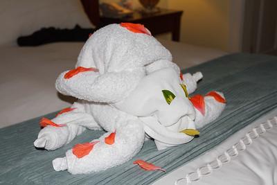 Towel Art Turtle