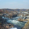 The Great Falls of the Potomac River, located NW of Washington DC. Photo courtesy of the US Park Service website.