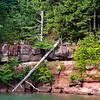 Apostle Islands Cruise, brown stone (sandstone)