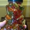 Gummi Bears in a Bear Jar