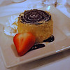 Boston Cream Pie which originated at the Parker House and which is delicious!