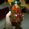 The bear jar of Gummi Bears that Jamie just HAD to have!