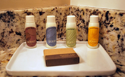 Bathroom Amenities at the Cranwell Resort, Spa, and Golf Club