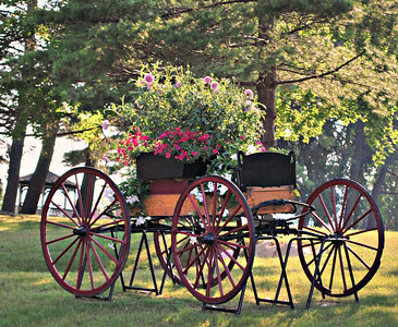 Carriage Flowers at the Cranwell Resort, Spa, and Golf Club