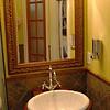 Bathroom sink in the Hunniford Room