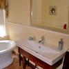 Bathroom sink in the Taylor Room