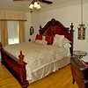 King-size bed in the Taylor Room