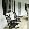 Rocking chairs in front of the room