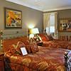 Bedding in Room #19 at the Casablanca Inn