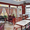 Indoor Dining Area of the Casablanca Inn