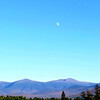 The Moon Rising Over Mount Washington