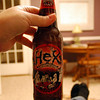 Enjoying a Bottle of Hex in the Library