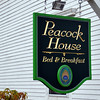 Peacock House Sign