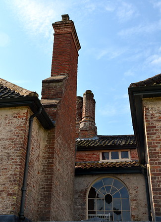 Brickwork at Washingford House