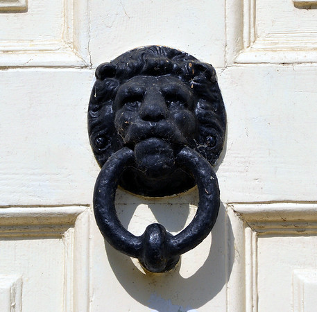 Front Doorknocker at Washingford House